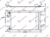 HLADNJAK KLIME BEN-DIZ(53.5x36.4x12)