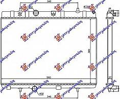 HLAD MOTORA BEN-DIZ (BRA) (38x56x2.7)