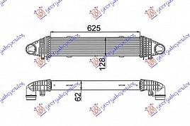 HLAD INTER1.8i16VG-2.1CDi(62x12)KW100-15