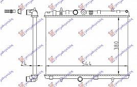 HLAD MOTORA BEN-DIZ (M) (38x54.4x2.3)