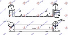 HLAD INTERC. 1.6-2.0 T.DIZEL(508x100x85)