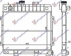 HLADNJAK MOTORA 1.6-1.8cc +/-A/C (44x35)