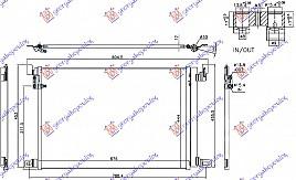 HLAD KLIM 2.0-3.0 TFSI/TDI(67.6x44.4x1.2