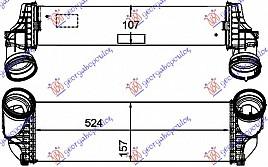 HLAD INTERC.3.5i-3.0 TD (158x524x105)