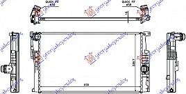 HLADNJAK 1.6 (316i/320i) BENZIN / 2.0 (3
