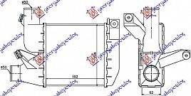 HLAD INTERCOOLER 2.5 TD (192x204x62)