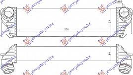 HLAD INTERC.2.0-3.0 DIZEL (550x172x80)