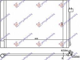 HLADNJAK KLIME BENZIN-DIZEL (59x46x16)