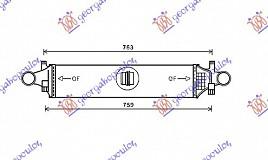 HLAD.INTERCOOLER BENZ/DIZ (625x145)