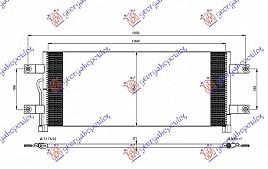 HLADNJAK KLIME DSL (85x35x16)