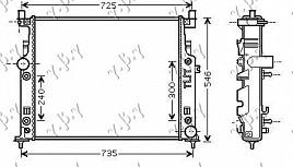 HLAD MOT.(SVI MODELI) M/A +/-AC(63.5x53)