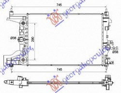 HLAD MOTORA 1.6 BENZ (-AC)(58x39x16)AUTO