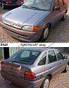 FORD ESCORT 90-92