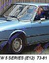 BMW SERIES 5 (E12) 73-81