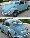 VW BEETLE 1200-1300
