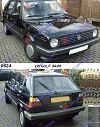 VW GOLF II 84-88