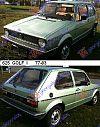 VW GOLF I 77-83