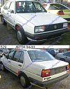 VW JETTA 84-91