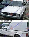 VW CADDY 79-95