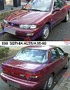 KIA SEPHIA ALTIVA 95-98