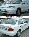 HYUNDAI ACCENT SDN 94-97