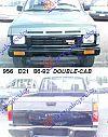 NISSAN P/U (D21) DOUBLE CAB 86-92