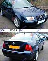 VW BORA 98-05
