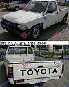 TOYOTA HI-LUX (YN 85) 2WD 89-94