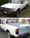 TOYOTA HI-LUX (YN 110) 4WD 89-97