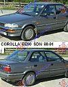 TOYOTA COROLLA (E 9) SDN 88-91