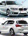 BMW SERIES 1 (F21/20) 3/5D 15-