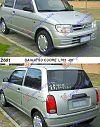 DAIHATSU CUORE (L701) 98-02