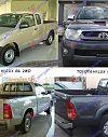 TOYOTA HI-LUX 2WD/4WD 09-12