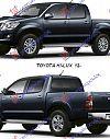 TOYOTA HI-LUX 2WD/4WD 12-15